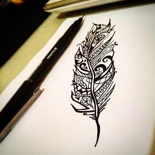 Bored doodle. Bored Doodle Doodlesofinstagram Drawing Drawingsofinstagram Feather  Tattooart