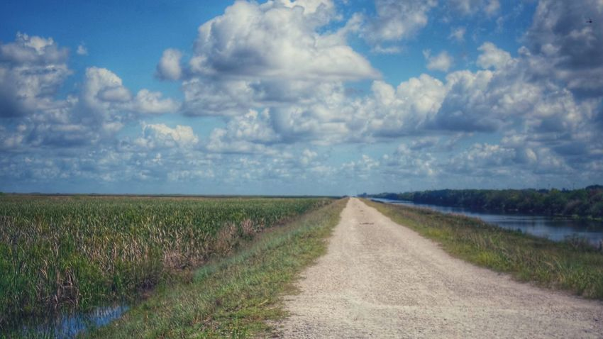 100 Days Of Summer Clouds And Sky Landscape Agriculture Rural Scene Nature Cloud - Sky Tranquility Dirt Road Horizon Over Land Scenics Outdoors Tranquil Scene Road The Way Forward No People Field Sky Grass Day Growth Beauty In Nature Water Ravine