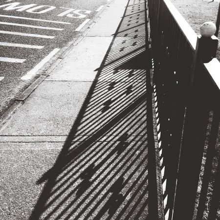 Stumbled across some lines while walking to the shop the other day. Walking Lines Black And White IPhoneography