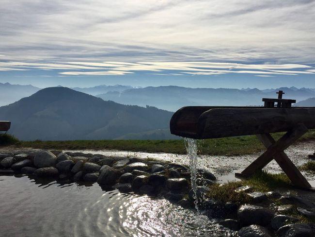Water Sky Cloud - Sky Mountain Scenics - Nature Beauty In Nature Nature Land Outdoors Non-urban Scene Mountain Range Landscape