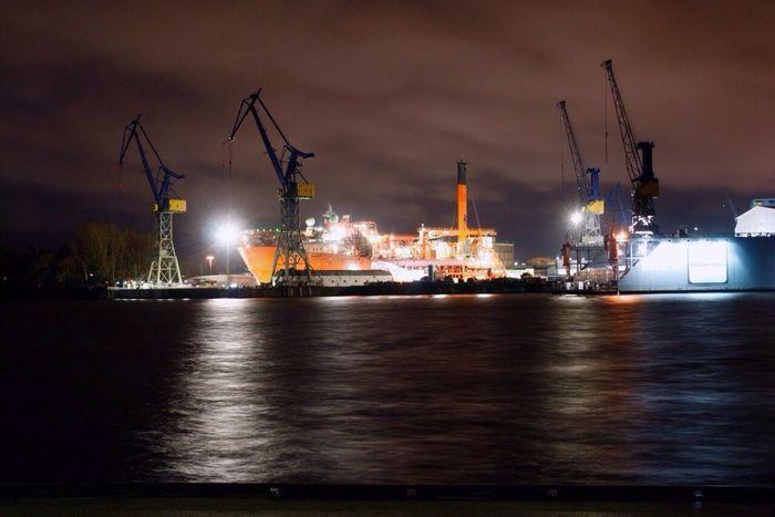 Longexposure Langzeitbelichtung Landscape Hafen