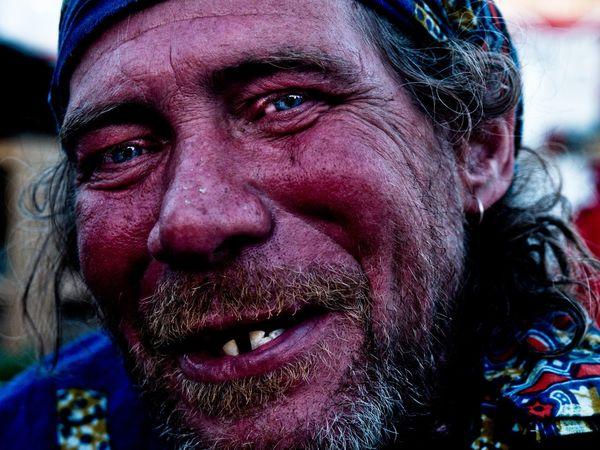 Homeless King of the democracy village. Stevesevilempire Steve Merrick Homelessness  Homeless London Uk Portrait Protest Olympus Photojournalism News Photgraphy Humanity...
