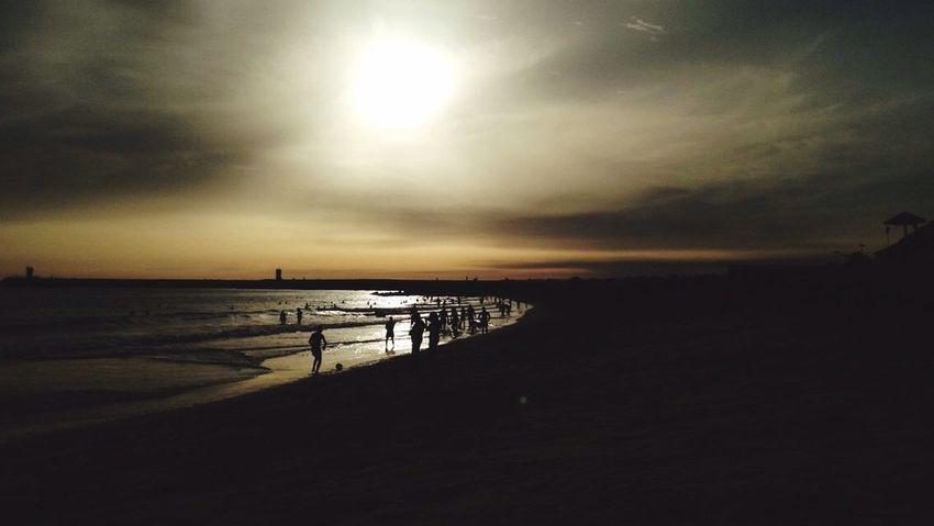 Sun Sunset Sea Water Beach