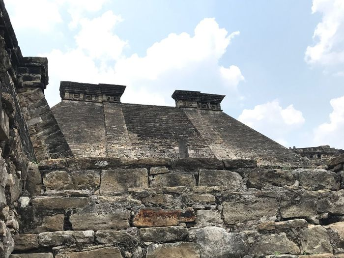 Tajin Veracruz Piramide Architecture Sky Ancient History Travel Destinations Pyramid Ancient Civilization Old Ruin