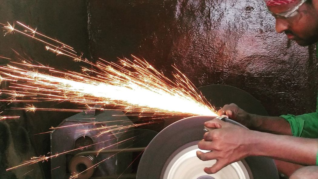 Taking Photos Work In Progress Photography Work Labour Sparks Sparks Fly Sharp Tools First Eyeem Photo