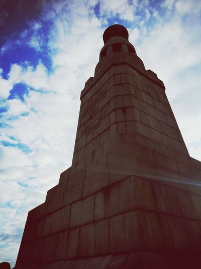 Architecture History Travel Destinations Cloud - Sky No People Outdoors WWII Wwi Memorials WWII Memorial Dundee Huawei p9 Lawhill Go Higher