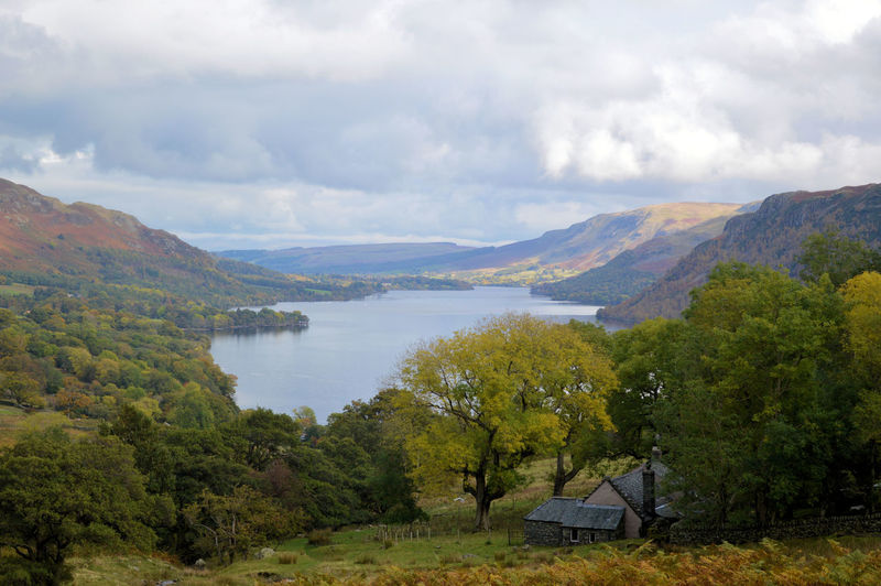 Landscape Mountain Range Outdoors Remote Sky Mountain Cloud - Sky Beauty In Nature Water Nature Countryside Lake Ullswater English Countryside View From Seldom Seen Cumdria Tranquil Scene Natural Beauty Lake View Lake District Idyllic Tranquility