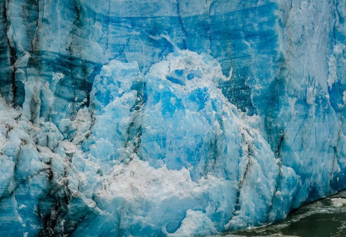 Blue Ice Glacier Moreno Glacier Glacier Iceberg Blue Full Frame No People Backgrounds Day Cold Temperature Winter Outdoors Ice Water Frozen Snow Wall - Building Feature Rough Rock Textured  Beauty In Nature Nature