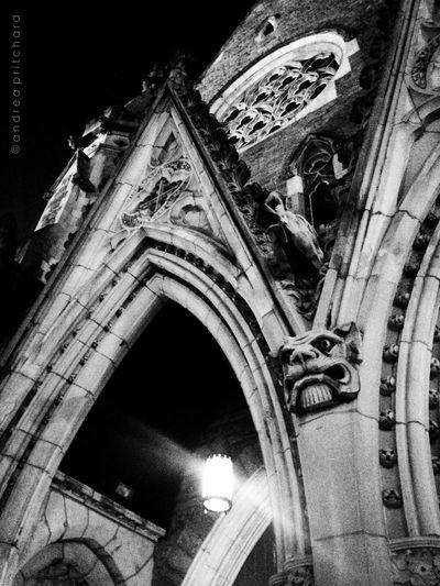 Christ Church Cathedral AMPt_community Black And White Montréal EyeEm Best Shots - Black + White