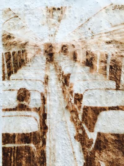 Photographic Approximation OpenEdit Fresh Landscapes Bus Ride in brown...