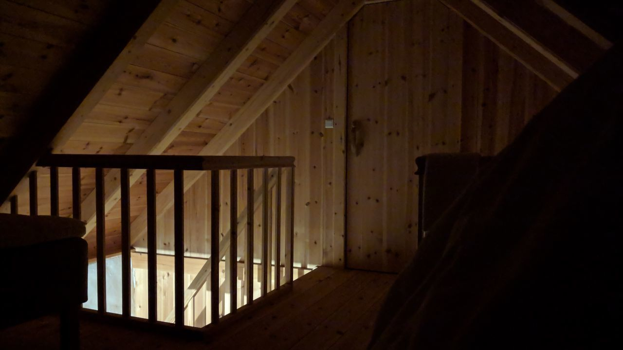indoors, wood - material, architecture, no people, built structure, home interior, building, shadow, dark, sunlight, domestic room, flooring, empty, absence, furniture, day, house, seat, pattern, wood