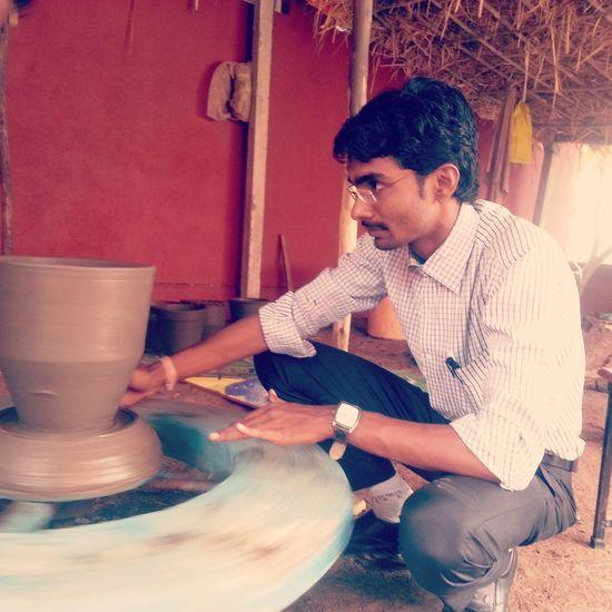Pot making... First Eyeem Photo