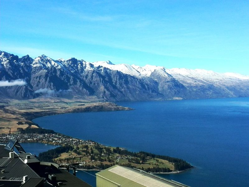 Nature Autumn Traveling New Zealand Lsndscape Nature Photography Mountain_collection Queenstown Newzealand Lakefront