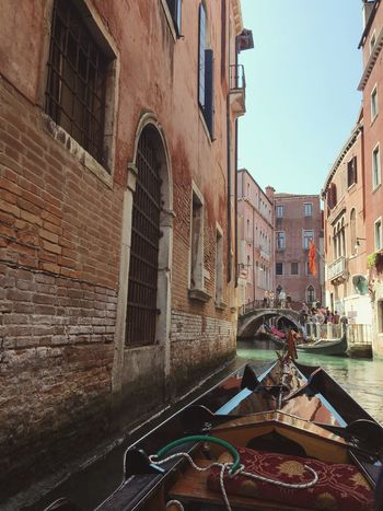 Gondola - Traditional Boat Building Exterior Canal Transportation Mode Of Transport Gondola No People