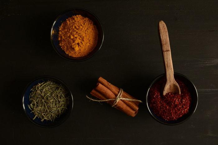 Wooden Spoon Dark Kitchen Darkfood Cinnamon Cinnamonrolls Saffron Crocus Colchicum Red Peppers Thyme Napkin Spices Napkins Woodenspoon Breakfast