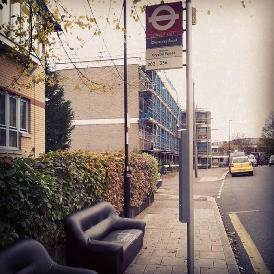 Is it me or are BusStops getting really Comfy  nowadays? ^___^ London Dontmindifido Delightful