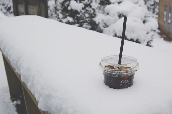 Coffee Time Snow ❄ Happy Day