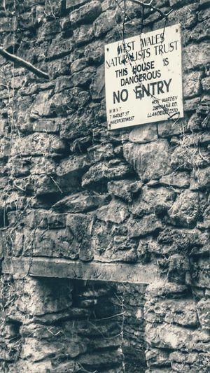 Wales Walking Around Sign Stones N Rocks Stone Building Derelict Derelict Building Exploring Old Old Building