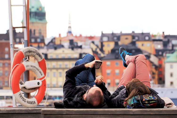 People Couple Couples City Life Lifestyles Architecture Cityscape Cityscapes Feel The Journey Natural Light Portrait Portrait Portrait Of A Couple Portraiture Relaxing Chilling Out The Innovator Popular Dramatic Angles EyeEm Best Edits EyeEm Best Shots EyeEm Gallery Enjoy The New Normal Gamla Stan Stockholm Sweden Mobile Conversations Long Goodbye MISSIONS: The Street Photographer - 2017 EyeEm Awards The Portraitist - 2017 EyeEm Awards Mix Yourself A Good Time Modern Love Connected By Travel
