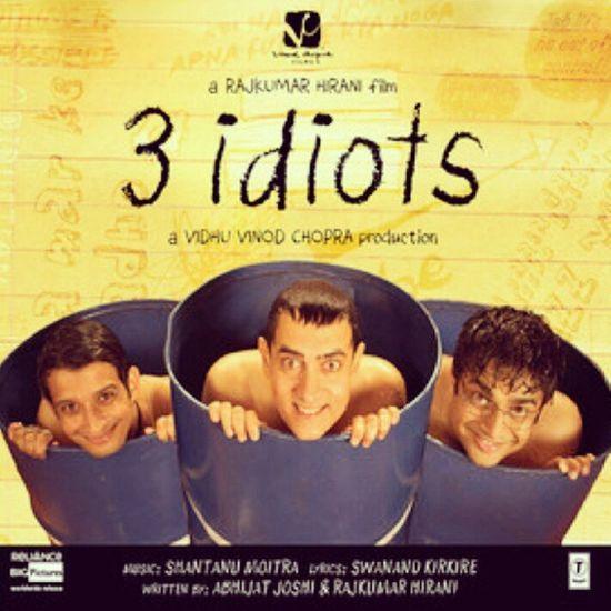 Bu zamana kadar boyle bi filmi nasıl kacırdım dedim mi dedim!Hala izlemeyen varsa hic vakit kaybetmesin Threeidiots Aamirkhan Filmtavsiyesi