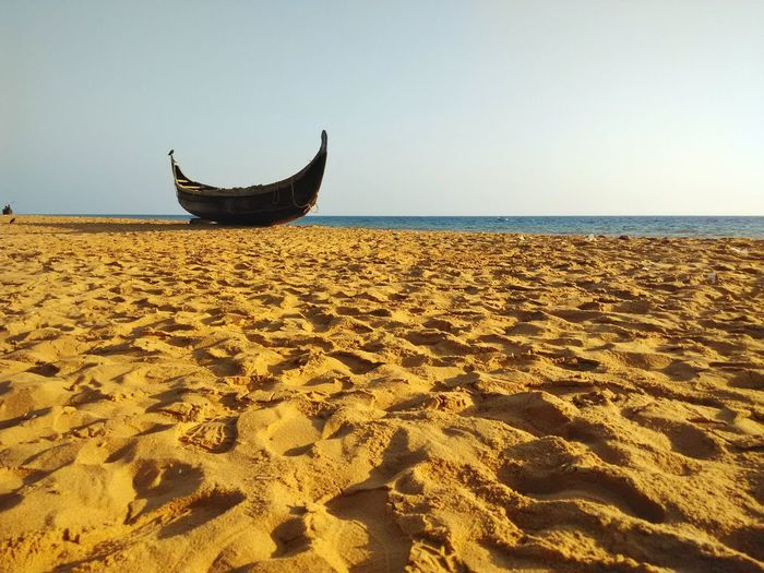 Traditional fishing boat !!! Traditional Traditional Fisherman Traditional Boat Sea Water Beach Nautical Vessel Sunset Sand Clear Sky UnderSea Sky Horizon Over Water