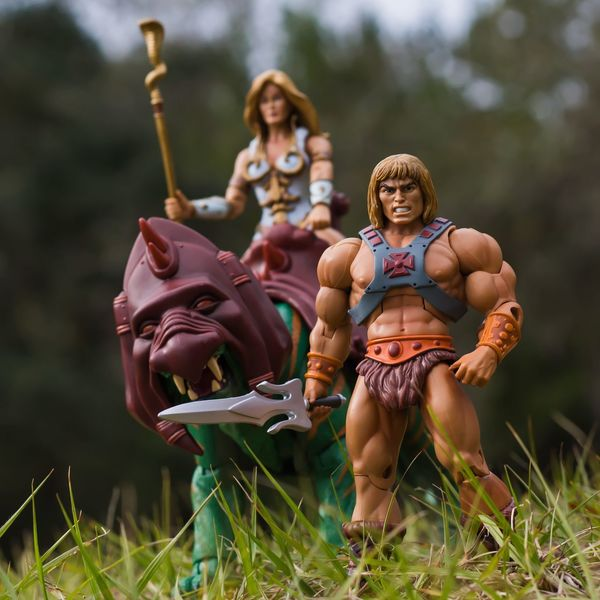 Masters Of The Universe He-Man Outdoors Outdoor Photography Toygroup_alliance Toysaremydrug Toy Photography Toyphotography Toycommunity Action Figures Toys Nature Teela Motu MOTUC