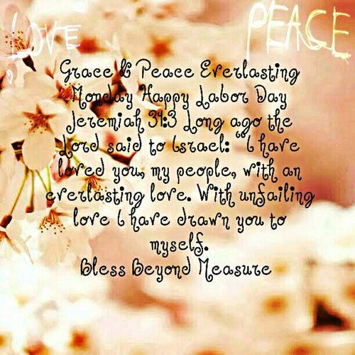 Grace & Peace Everlasting Monday