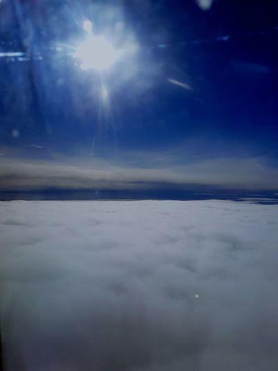 On flight..