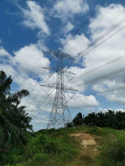 Power line in