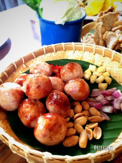 ไส้กรอกอีสาน😍 Hors D'oeuvres Thai Sausage Pork Sausage Sausage Thai Foods