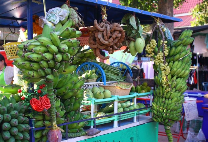 Thai fruit for yum Fruit Healthy Eating Day Food And Drink Market Food Freshness