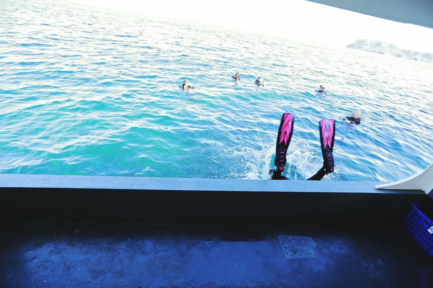 Water Swimming No People Day Outdoors Sea Scuba Diving Nature Sky UnderSea Done That.