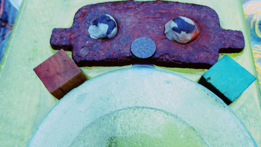 Brake Pad Boy Close-up No People Outdoors Day Urban Photography Eyem Gallery Compact Digital Camera Eyeemphotography EyeEm Best Shots Art Gallery Artphoto Multi Colored Photography Pattern, Texture, Shape And Form Photooftheday Car Part Art Car Parts Disused