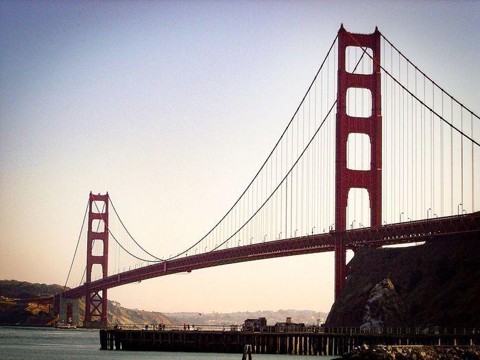 EyeEmNewHere Suspension Bridge Architecture Bridge San Francisco Golden Gate Bridge