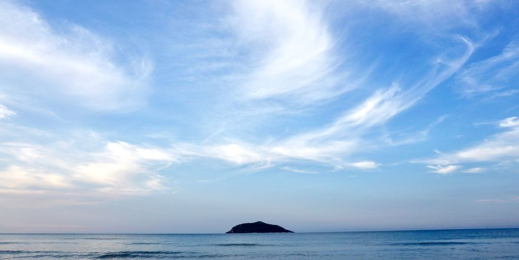 Island… Island Sky Sea Water Cloud - Sky Beauty In Nature Scenics - Nature Tranquility Nature Blue The Great Outdoors - 2018 EyeEm Awards