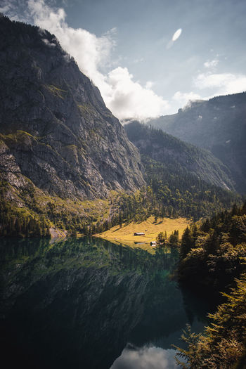 Lake Obersee is