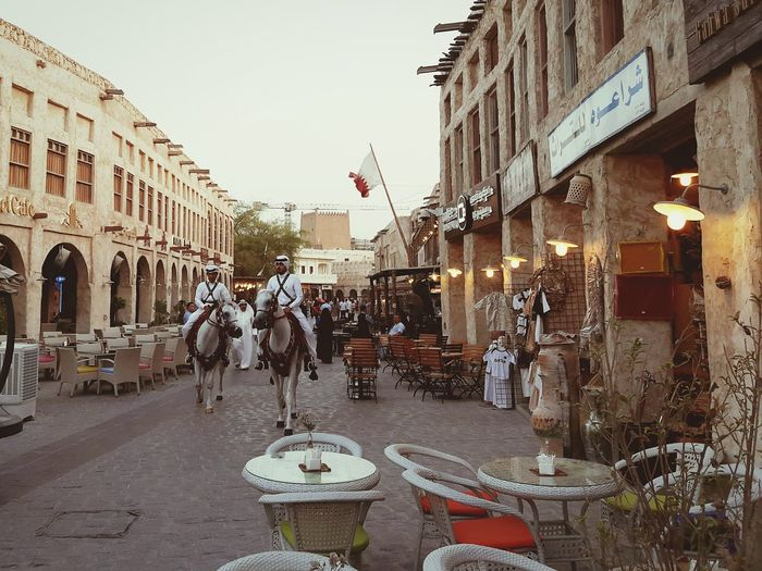 Souq Waqif is a tourist market in Doha, in the state of Qatar that selling traditional garments, spices, handicrafts and souvenirs. Also dozen of restaurants and shisha lounges there. First Eyeem Photo