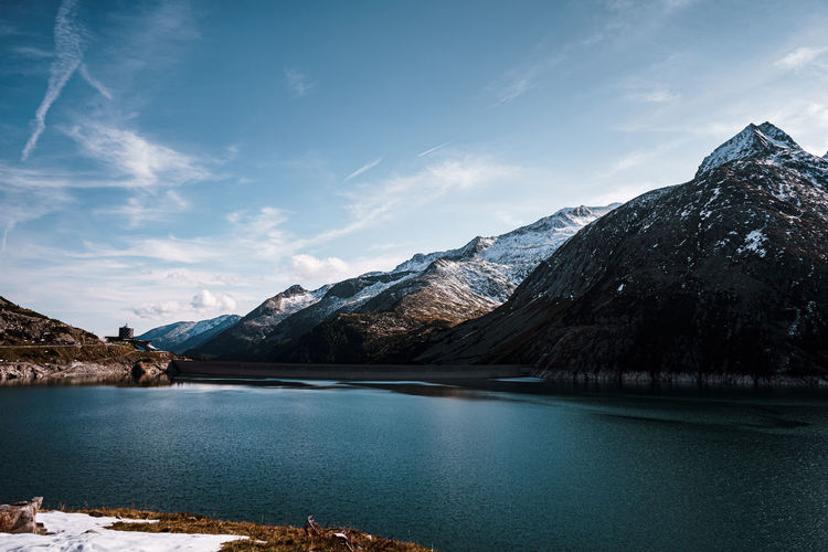 The kölnbreindam and the mountains