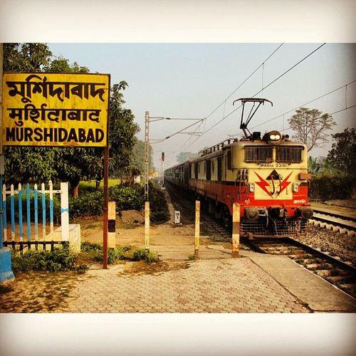 Instasize Instagram Instalike Train Murshidabad Station Home Village WestBengal Timepass Noon Friends Frontview Rajgram Rain Rare