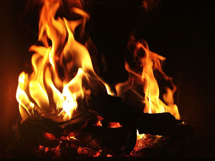 Winter IPhoneography Minimalism Fire Fireplace Hot Comfortable EyeEm Bestsellers