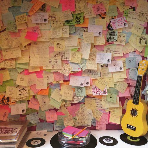 Bubbletea Yummy♡ Glasgow  Love StickyNoteDoodle Miniguitar Doodle Fun Colourful