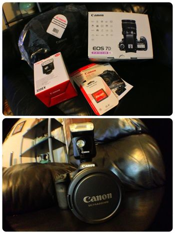 Camera Gift DSLR Canon 7D