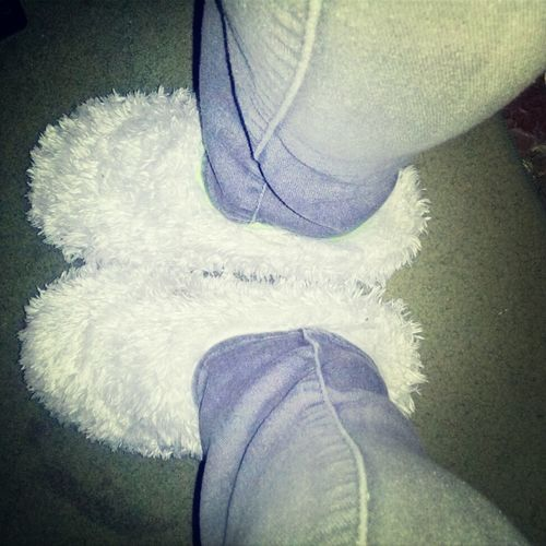My House Shoes (: >>> Yours -__-