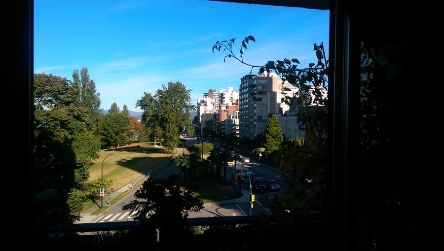The View From My Window At 1275 Beach Ave, Vancouver,BC