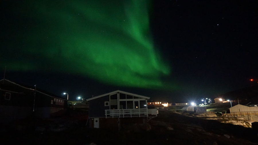 The Northern lights are back again Aurora Aurora Borealis EyeEm Best Shots EyeEm Best Shots - Nature Ilulissat Northern Lights The Real Greenland This Is Greenland Beauty In Nature Natural Phenomenon Night Power In Nature Sky