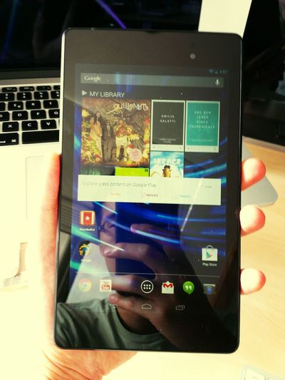 Geeking Out! over our new Nexus 7 :D
