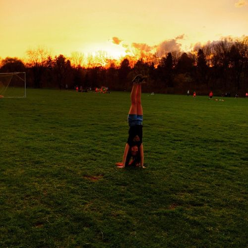 Playing Sunset Soccer EyeEm Best Shots Eye4photography  Eye For Photography