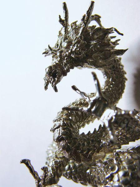 I Made Silver925 Accessory . made 4 Years A Go . Sacred Beast . 龍神 ( Dragon God ) Shaving .