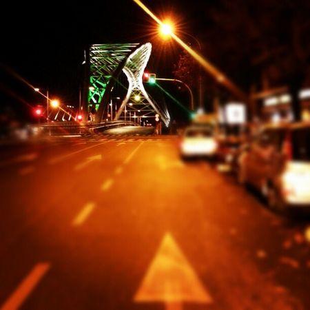 A new Bridge in Rome Ostiense's Restyling! Sevilla + Roma hanno un arco reticolare in comune! Igersitalia Igersroma Instagramers