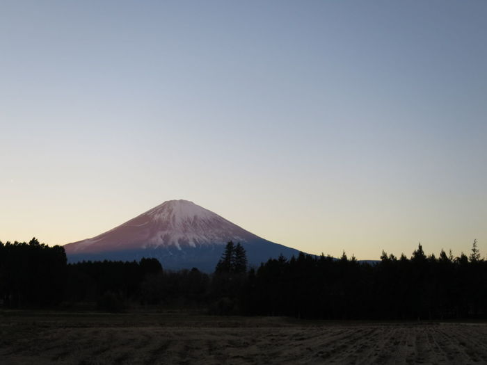 Mt Fuji Evening Evening Sky Amazing View Mostly Sunny Sky